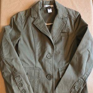 GAP Olive Jacket - Size 1